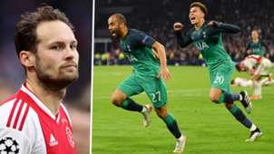 Daley Blind Lucas Moura Dele Alli Ajax Tottenham