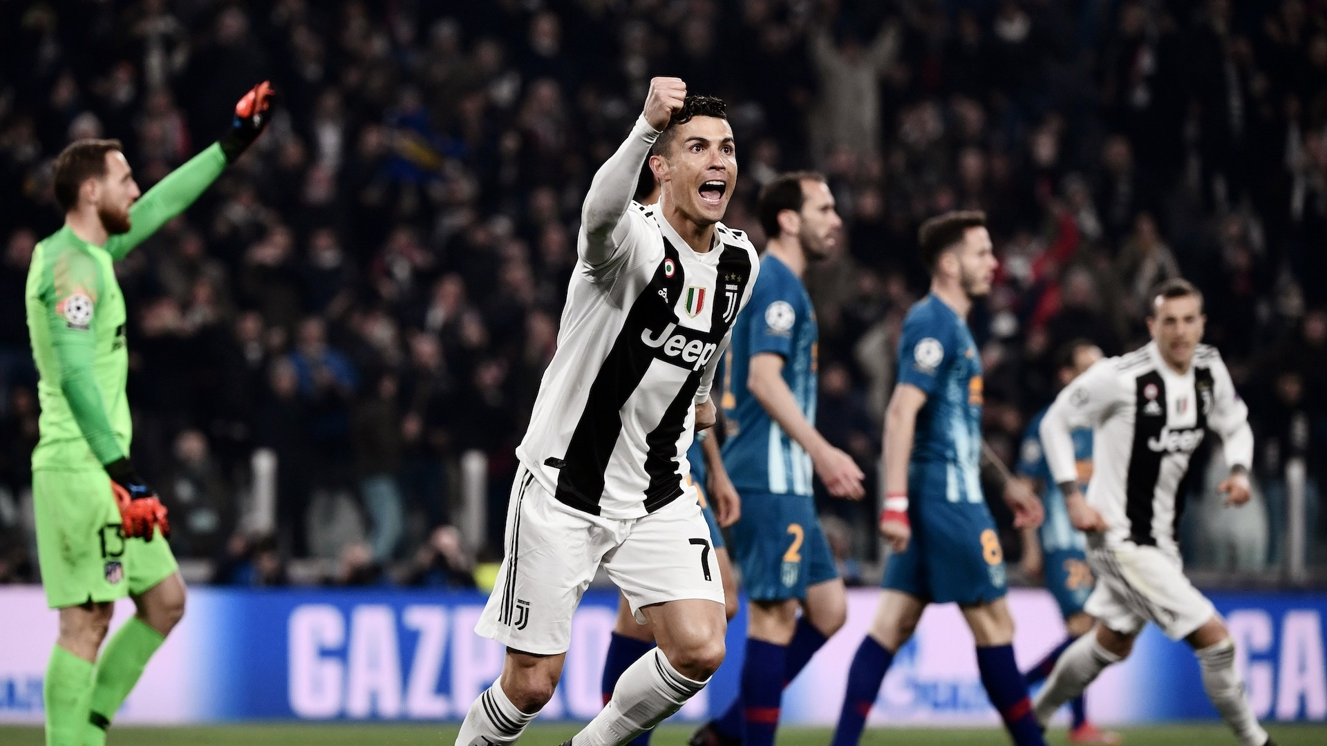 Cristiano Ronaldo Vs. Atletico Madrid | 2019