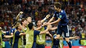 Japan celebrate 2018