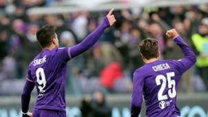 Giovanni Simeone Federico Chiesa Fiorentina Milan Serie A