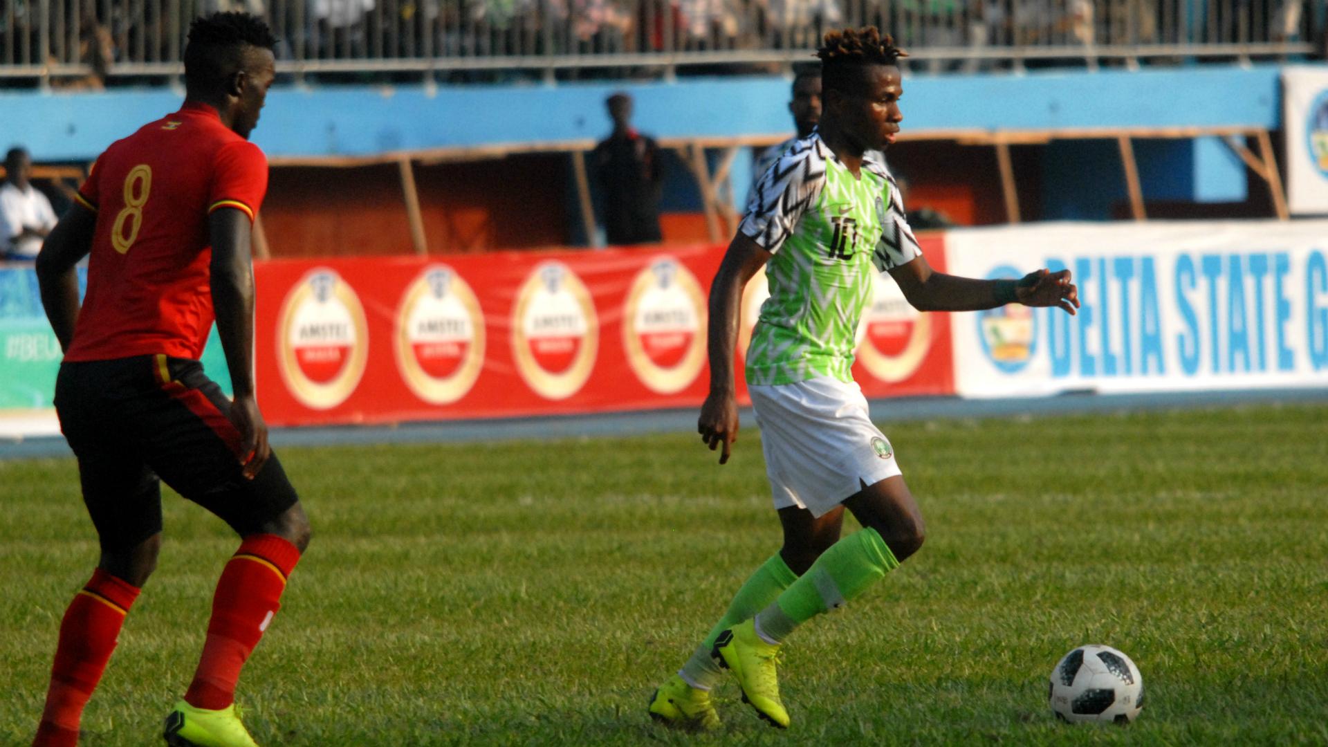 Samuel Chukwueze - Nigeria vs. Uganda