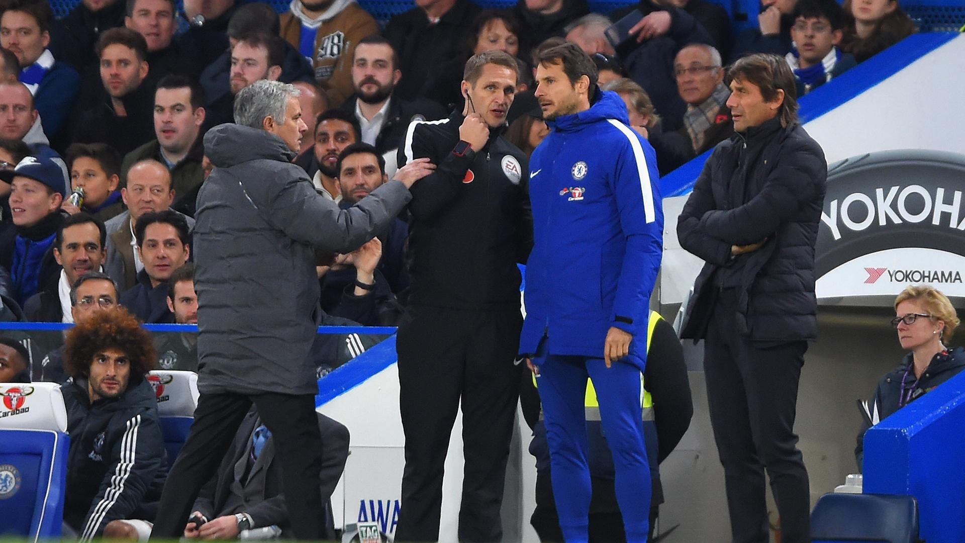 Antonio Conte Jose Mourinho Chelsea Manchester United