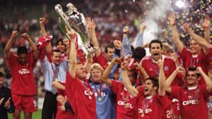 Bayern 2001 Champions League winners