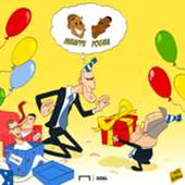 Zinedine Zidane birthday cartoon