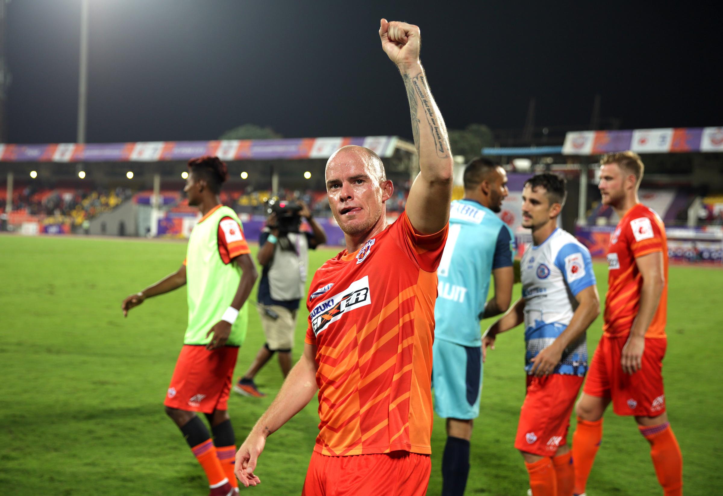 Iain Hume FC Pune City ISL 2018-19