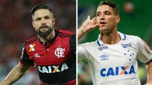 GFX Diego Thiago Neves Flamengo Cruzeiro