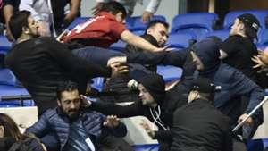 Kerusuhan Fans Lyon Versus Besiktas