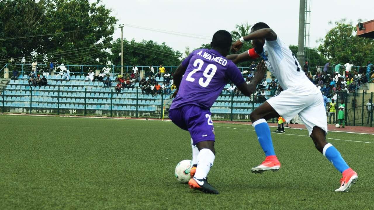 Mfon Udoh, Waheed Adebayo - MFM vs. Enyimba