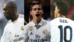 Collage 10 Real Madrid