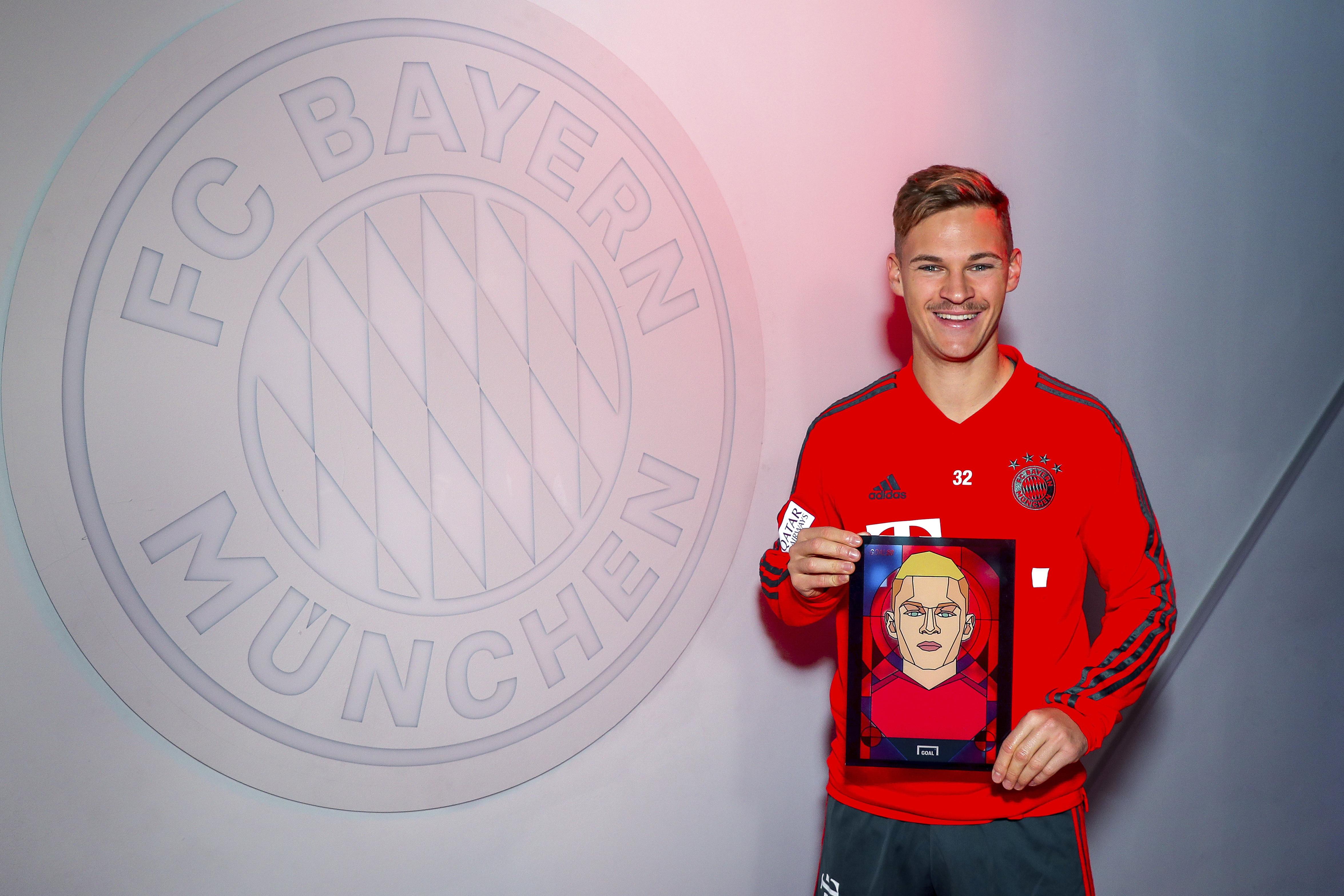 Joshua Kimmich FC Bayern München Goal 50 2018