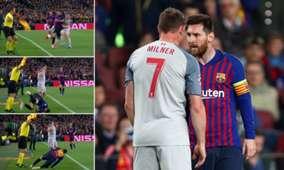 Leo Messi James Milner