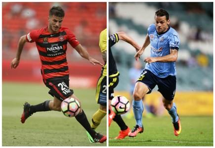 Terry Antonis Western Sydney Wanderers Bobo Sydney FC A-League