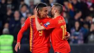 Rodrigo Moreno Jordi Alba España Noruega Spain Norway EURO 23032019