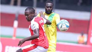 Simba SC v Collins Kisuya of Kakamega Homeboyz.j