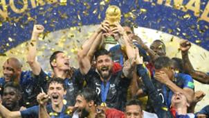 Giroud França Copa do Mundo 17 07 2018