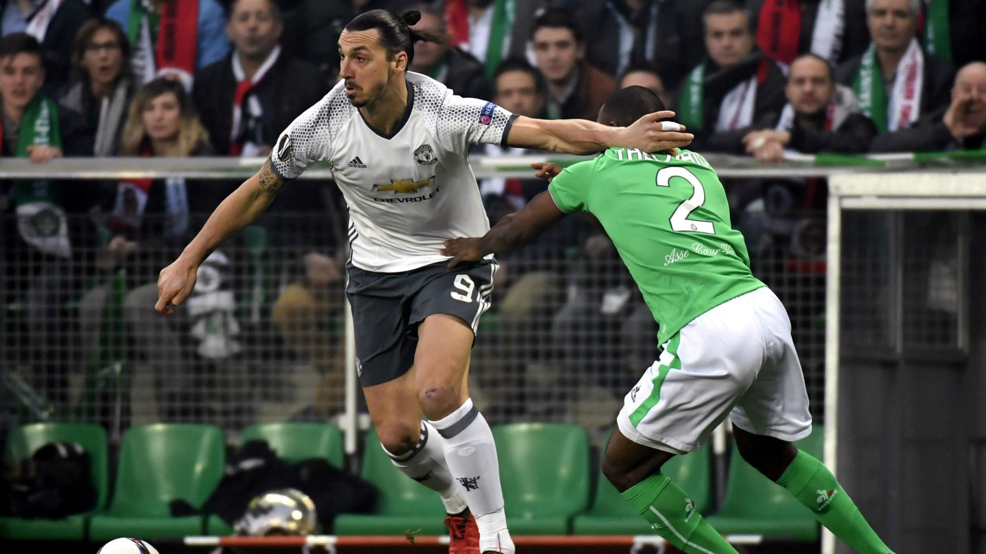 Zlatan Ibrahimovic Saint-Etienne Manchester United