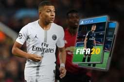FIFA 20 Mbappe composite