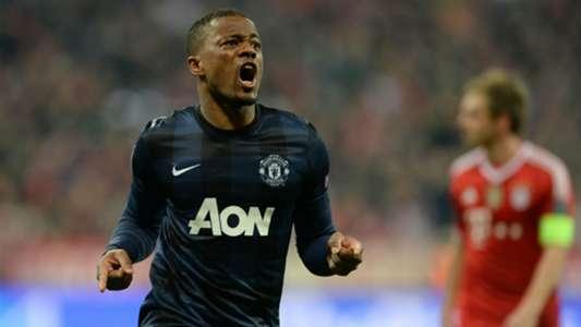 Patrice Evra Manchester United Bayern Munich Champions League