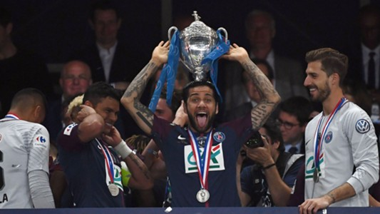 Dani Alves PSG champions Coupe de France 08052018