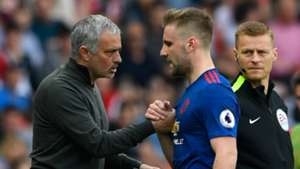 Jose Mourinho Luke Shaw Manchester United Sunderland 09042017