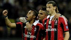 Robinho Boateng Ibrahimovic Milan