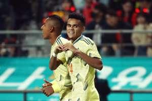 Luis Díaz gol Colombia. - Corea Amistoso 2019