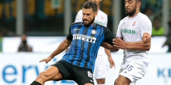 Antonio Candreva Inter Fiorentina