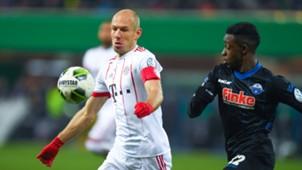 Arjen Robben Paderborn FC Bayern