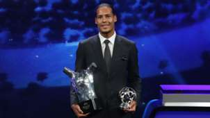 Virgil van Dijk UEFA awards