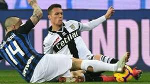 Nainggolan Siligardi Parma Inter Serie A