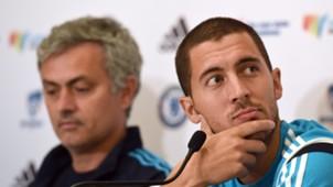 Jose Mourinho, Eden Hazard, Chelsea