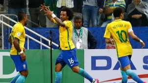 Marcelo Brazil v Paraguay World Cup qualifying 28032017