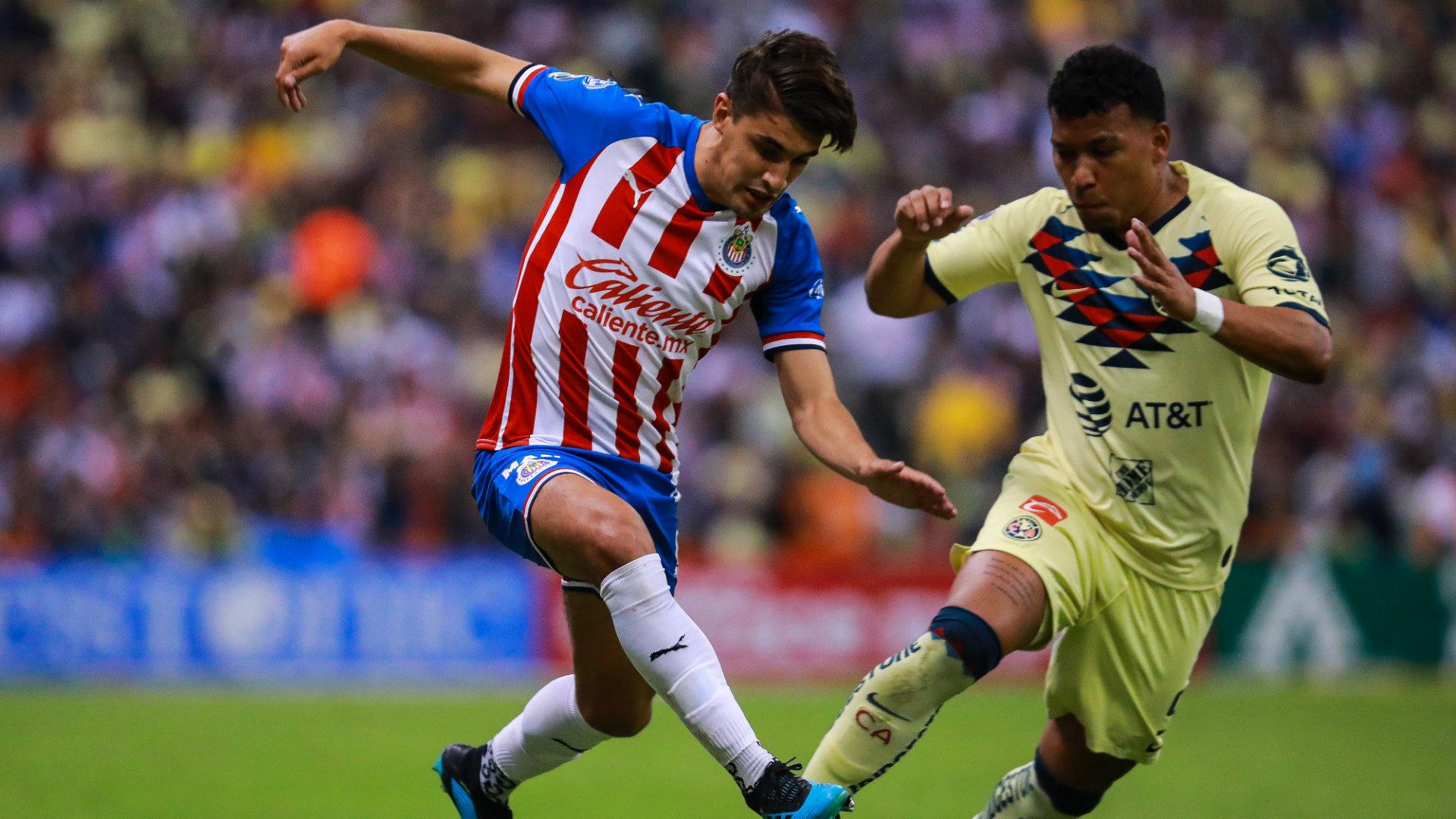 Josecarlos Van Rankin Roger Martínez Chivas vs América Apertura 2019