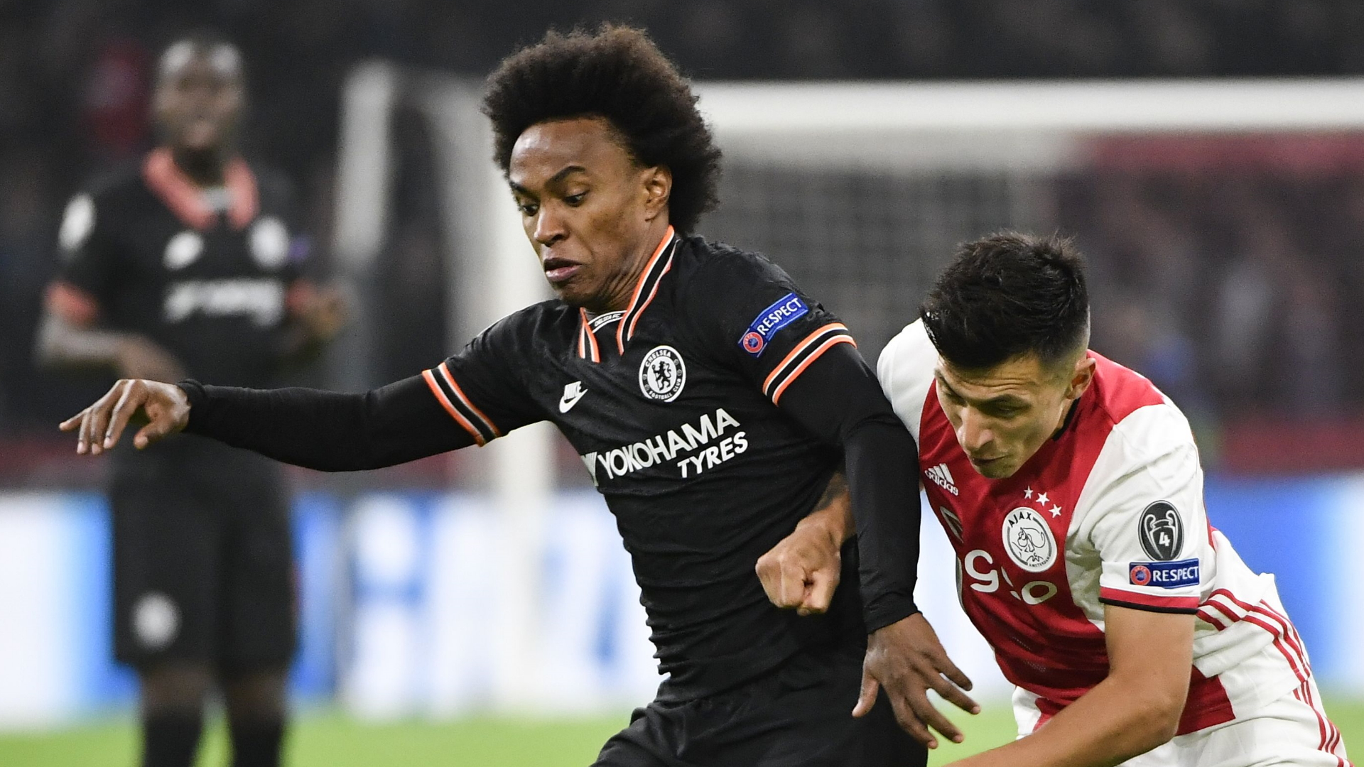 Willian, Ajax vs Chelsea