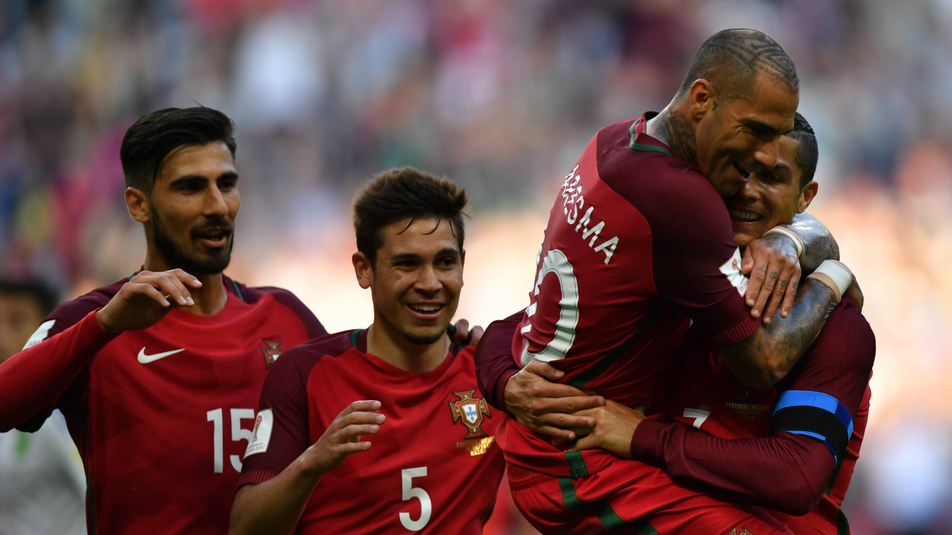 Portugal Mexico Confederations Cup