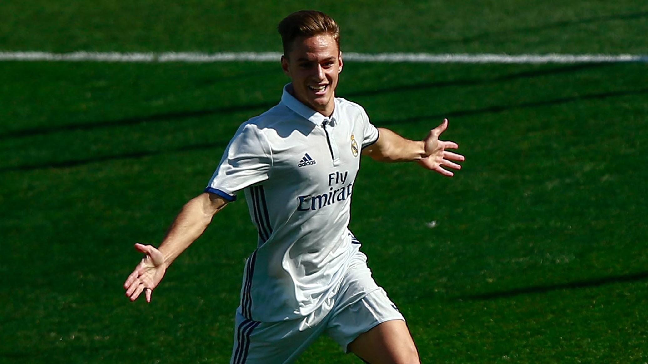 Dani Gomez Real Madrid Castilla