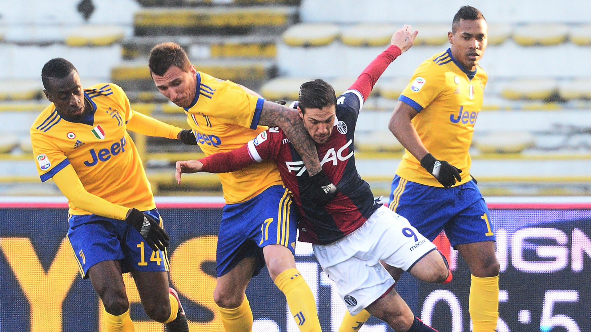 Mario Mandzukic Simone Verdi Bologna Juventus Serie A