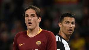 Zaniolo Ronaldo Roma Juventus 12052019