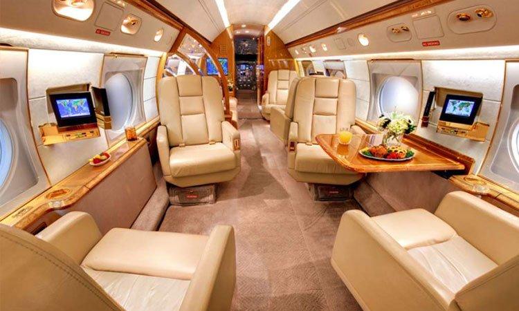 Avión Lionel Messi