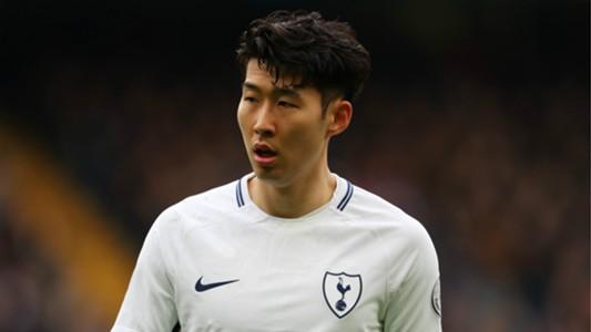 Heung-Min Son Tottenham 2017-18