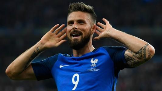 Olivier Giroud France Euro 2016