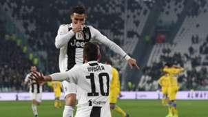 Cristiano Ronaldo Paulo Dybala Juventus Frosinone