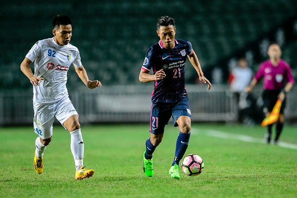 Trịnh Duy Long Kitchee Hà Nội FC AFC Champions League 2017 Play-off