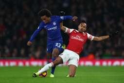 Willian vs Pierre-Emerick Aubameyang