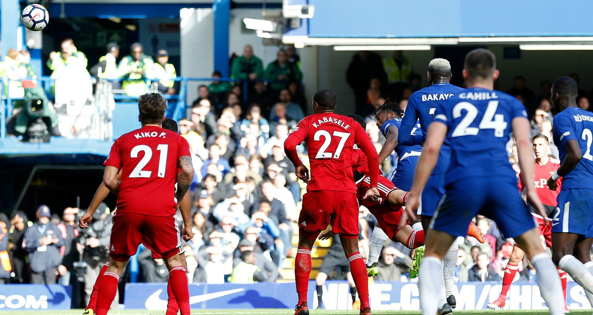 Batshuayi Chelsea Watford 2112017