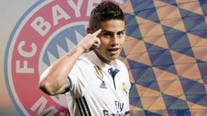 GFX James Rodriguez Bayern 11072017