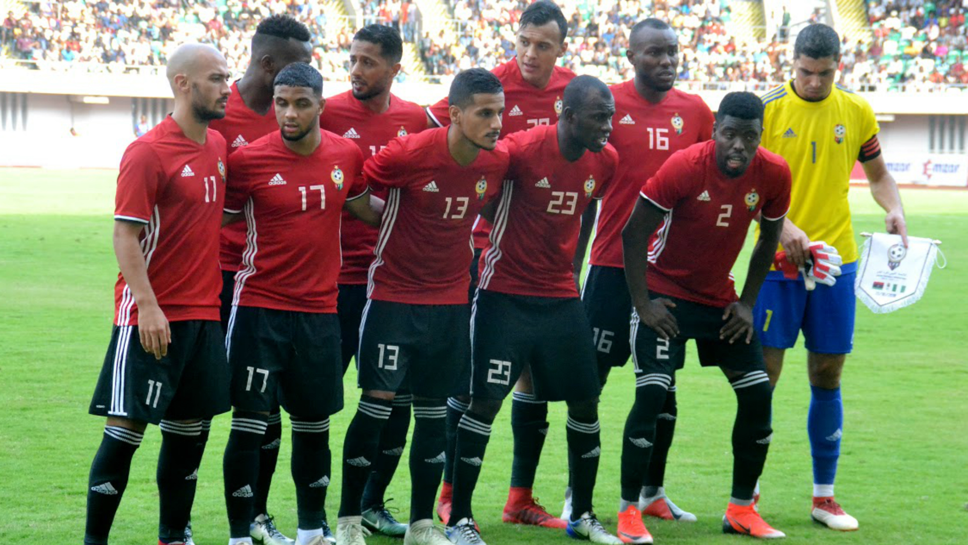 When is the Libya vs. Nigeria Africa Cup of Nations qualifier and how can I watch?