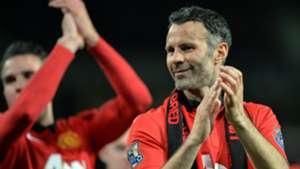 Ryan Giggs Manchester United 2014