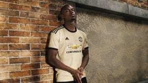 Pogba new Manchester United kit 2019