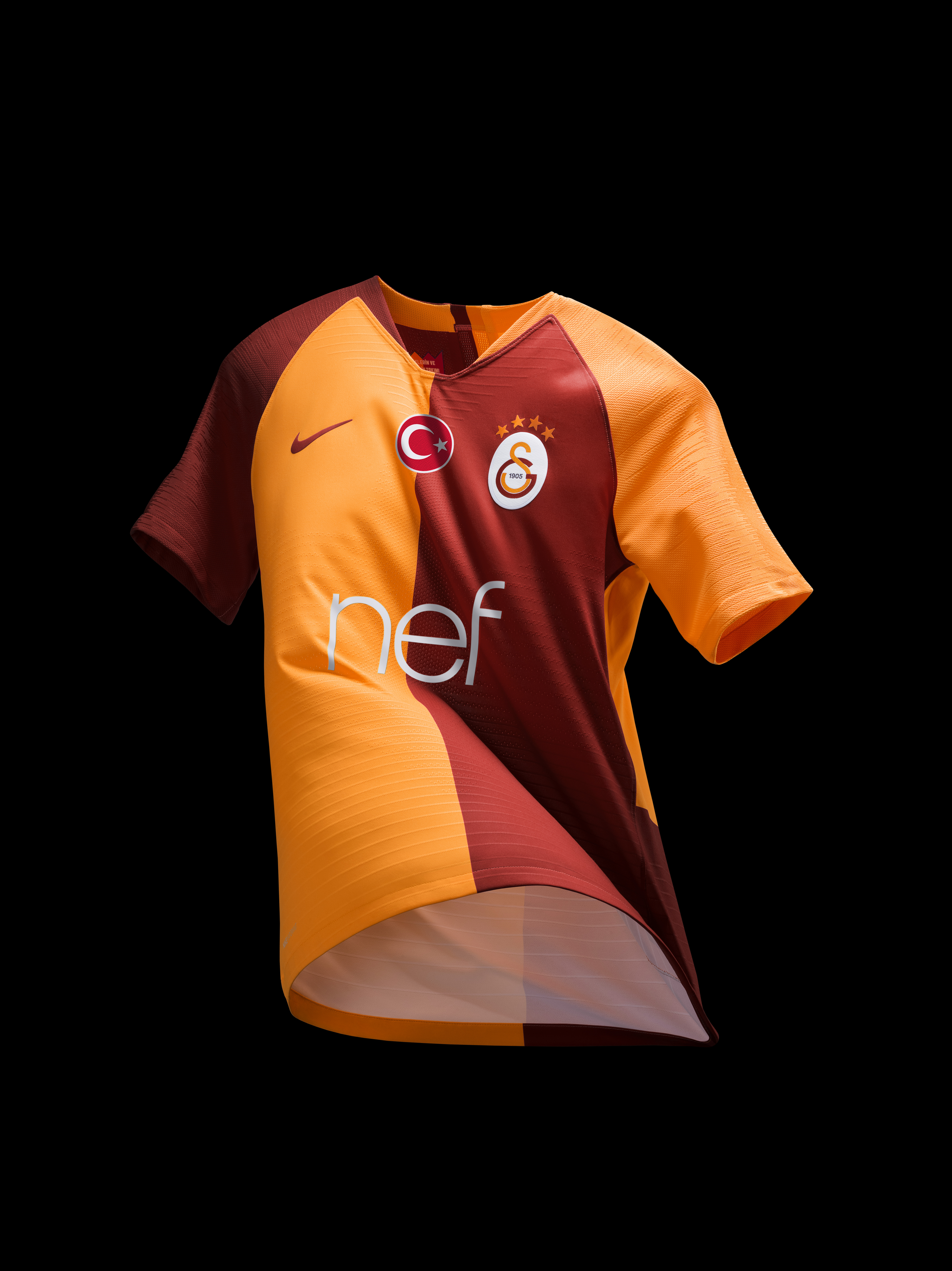 Galatasaray Home Kit 2018-19 EMBED ONLY bb9428036